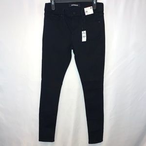 Express Mis Rise Stretch Legging Jeans Size 8